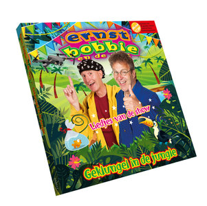 CD Geklungel in de Jungle; liedjes van de show